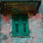 Shuttered window, Cinque Terre, Italy, 2014.