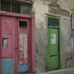 Doors, Heraklion, Crete. ShutteredEye Photography by Kathryn Hanson.