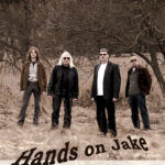 Hands on Jake Band poster, Photography and Graphic Design by Kathryn Hanson