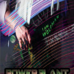 Powerplant Band poster, Graphic Design by Kathryn Hanson, ShutteredEye