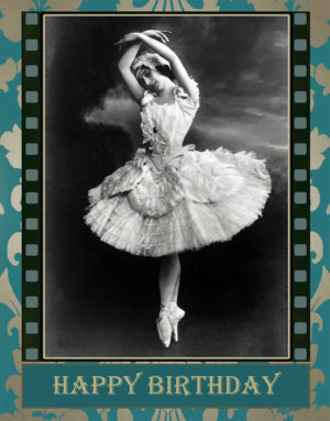 The Ballerina greeting card by Kathryn Hanson, ShutteredEye.