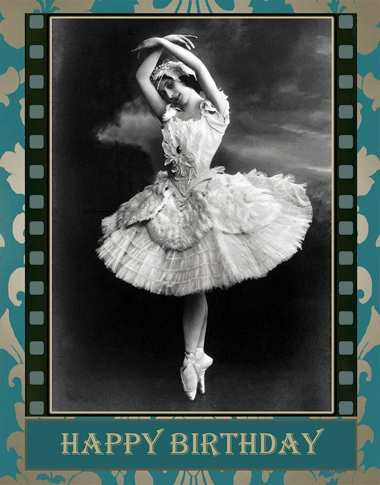 The Ballerina greeting card by Kathryn Hanson, ShutteredEye.