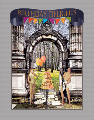 Birthday of Earthly Delights greeting card by ShutteredEye.