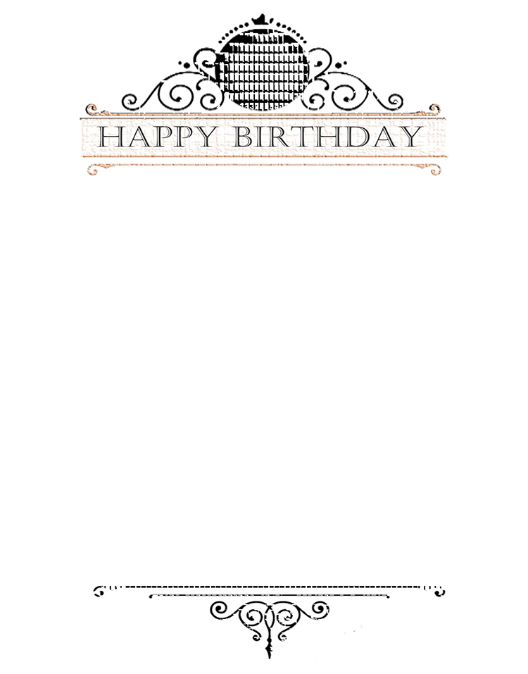 Happy Birthday message for inside card. Kathryn Hanson, ShutteredEye.