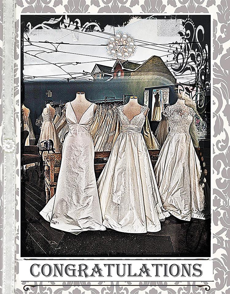 The Wedding Dream greeting card by Kathryn Hanson, ShutteredEye