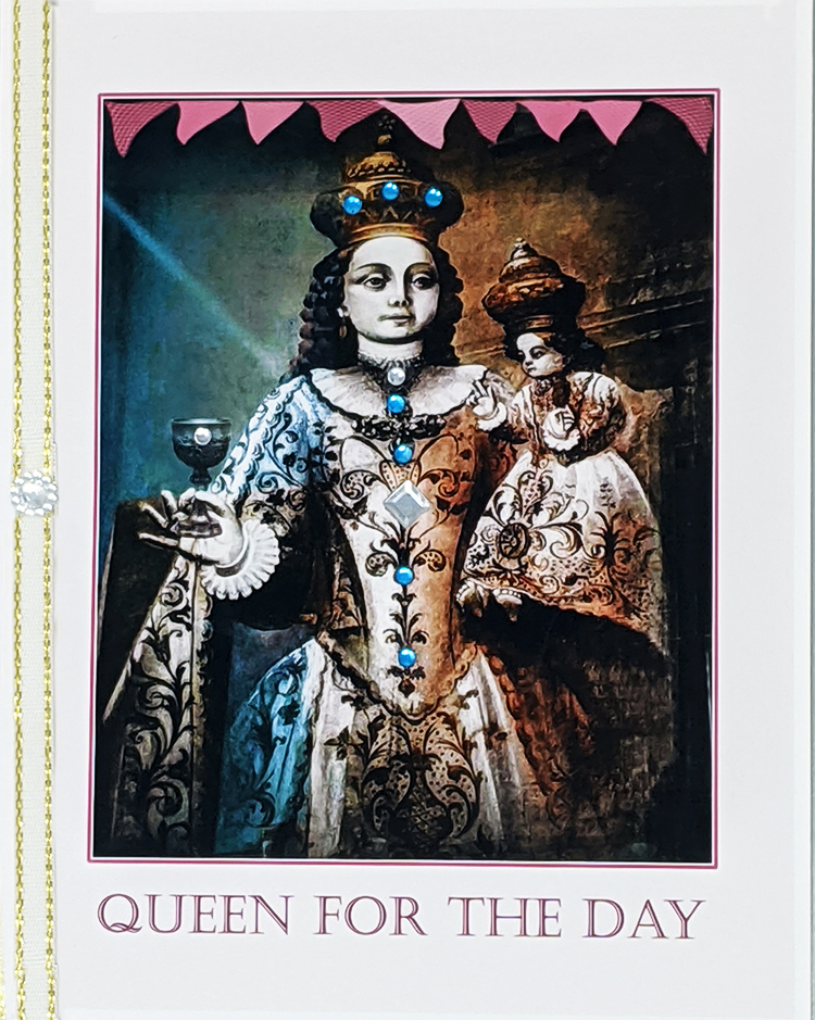 Queen for the Day greeting card. Photography by Kathryn Hanson, ShutteredEye.
