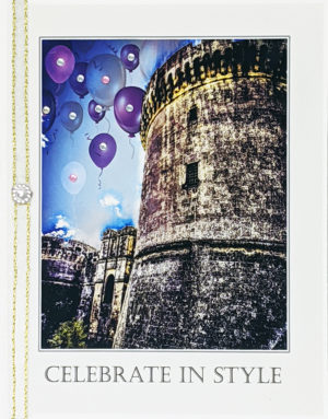 Castello Tramontano greeting card by Kathryn Hanson, ShutteredEye.
