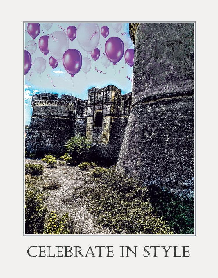 Castello Tramontano greeting card by Kathryn Hanson, ShutteredEye.